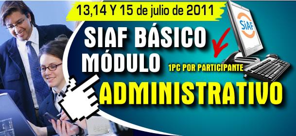 SIAF - BASICO MODULO ADMINISTRATIVO_1
