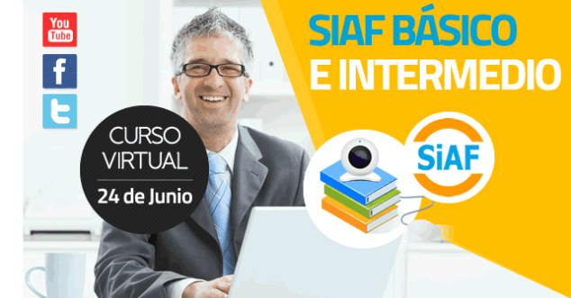 CURSO VIRTUAL SIAF BASICO E INTERMEDIO