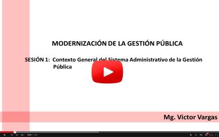 Contexto general de la gestión pública